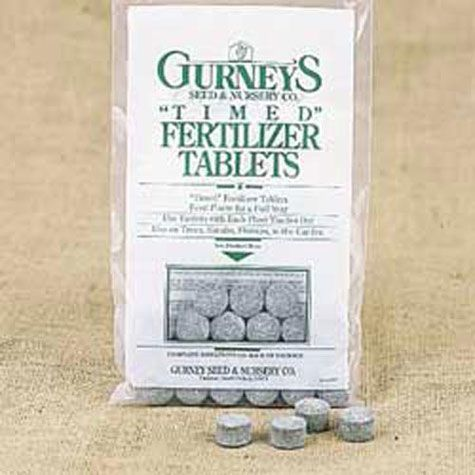 Gurney's<sup>&reg;</sup> T-I-M-E-D Fertilizer Tablets