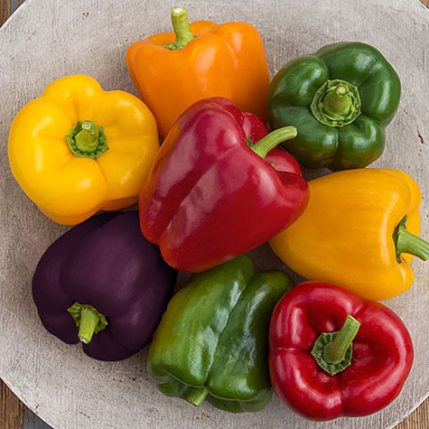 Sweet Bell Pepper Hybrid Mix